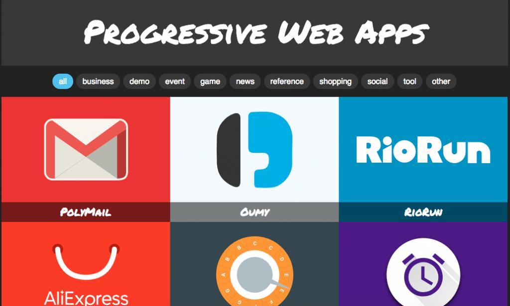 Progressive web app demo