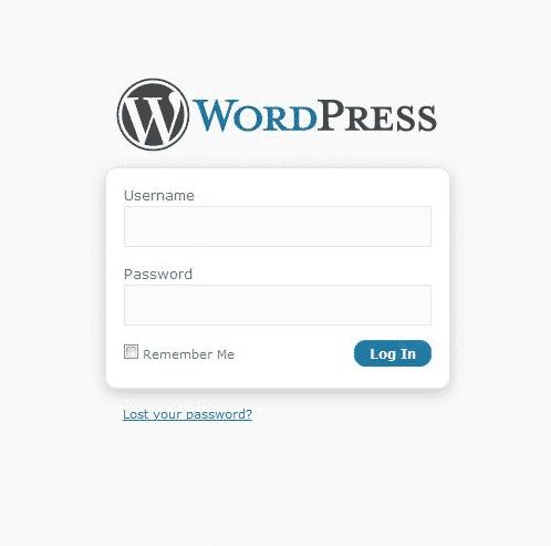 Không vào được trang quản trị WordPress do mật khẩu sai