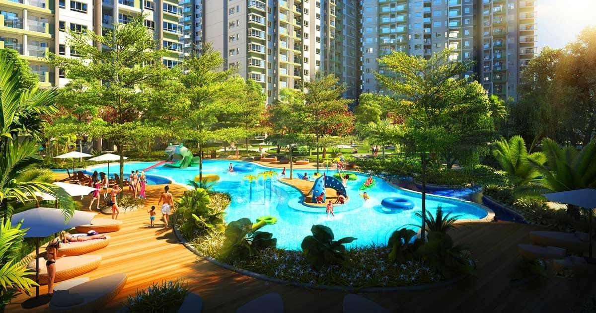 ho boi du an can ho astral city 3 - Tiềm năng dự án căn hộ Astral City tại Bình Dương