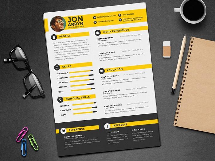TOP] 7 phong cách thiết kế CV xin việc được ưa chuộng hiện nay